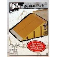 Tech Deck Build a Park - Tony Hawk Bank Ramp (Brown)