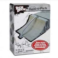 Tech Deck Build a Park - Tony Hawk Quarter Pipe Rainbow Rail (Grey)