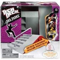 Tech Deck New Sk8 Parks Set (Styles Vary) One Random Pack Supplied