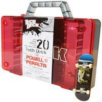 Tech Deck - Red Storage Case
