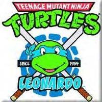Teenage Mutant Ninja Turtles Tmnt Leonardo Image Picture Fridge Magnet