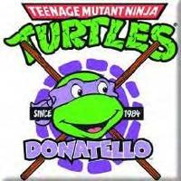 Teenage Mutant Ninja Turtles Tmnt Donatello Image Fridge Magnet