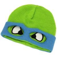Teenage Mutant Ninja Turtles (TMNT) Leo Face & Mask Cuffless Beanie