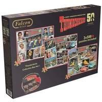 Thunderbirds Collector Box 50th Anniversary Jigsaw Puzzle Collectors Box Set