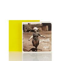 Think Happy Youth Has No Age Blank Card