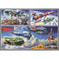 Thunderbirds Vehicles 1000 Piece Jigsaw Puzzle