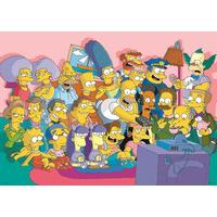 The Simpsons Puzzle 500 Piece Jigsaw Puzzle