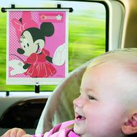 The First Years Adjust and Lock Car Shade - Minnie Mouse