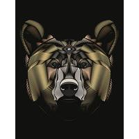 The Golden Bear By Fieldinspired