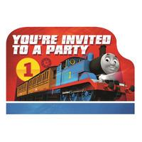 Thomas The Tank Engine Party Invitations - 2017