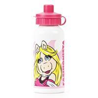 The Muppets Miss Piggy Aluminium Water Bottle - Multi-colour