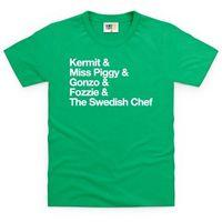 The Muppets Kid\'s T Shirt