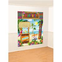 Tiki Scene Setter Wall Decorating Kit