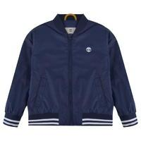 TIMBERLAND Children Boys Logo Varsity Jacket