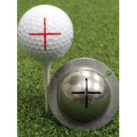 Tin Cup alingment stencil - Sharp Shooter