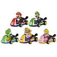 Tomy Pocket Money Toys Mario Kart Eight Pull Back Racers