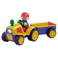 Tolo First Friends - Tractor with Trailer (89746)