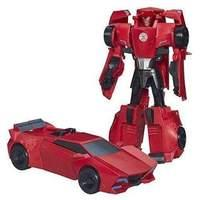 Transformers Robots in Disguise 3-Step Changers Sideswipe Figure