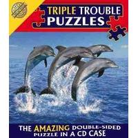 Triple Trouble Puzzle - Dolphin - Cheatwell Games