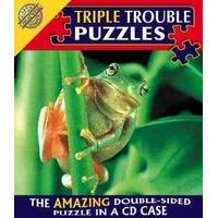 Triple Trouble Puzzle - Frog - Cheatwell Games