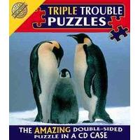Triple Trouble Puzzle - Penguins - Cheatwell Games