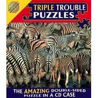 Triple Trouble Puzzle - Zebra - Cheatwell Games