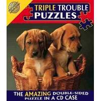 Triple Trouble Puzzle - Puppies - Cheatwell Games