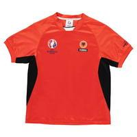 UEFA EURO 2016 Albania Poly T Shirt Junior