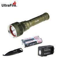 Ultrafire XM-L2 U2 5-L2 3-Mode Diving Flashlight Cold White Light
