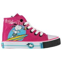 Unknown Snoopy Canvas Hi Tops Infant Girls