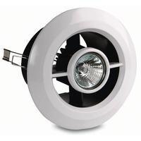 Vent-Axia Inline Shower Fan and Light Kit with Timer - 432505B