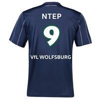 VfL Wolfsburg Third Shirt 2016-17 - Kids with Ntep 9 printing, Navy