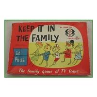 Vintage - Keep It In the Family game - Chad Valley