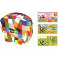 Vilac Box of 3 Wooden Jigsaw Puzzles
