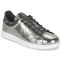 Victoria DEPORTIVO BASKET METALLISE women\'s Shoes (Trainers) in Silver