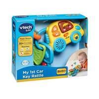 VTech Baby My First Car Key Rattle (Multicoloured)