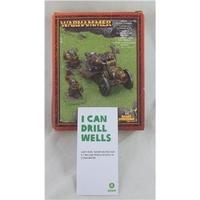 Warhammer Dwarf Flame Cannon, Games Workshop.