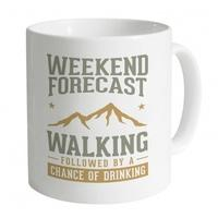 Weekend Forecast Walking Mug
