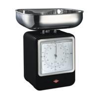Wesco Retro Scales with Clock Black