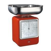 Wesco Retro Scales with Red Clock