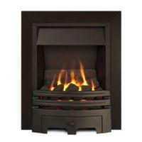 Westerly Open Fronted Black Inset Multiflue Gas Fire