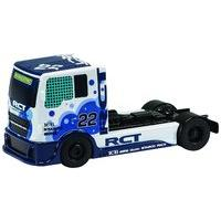 White Team Scalextric Racing Truck Slot Car