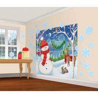 Winter Friends Scene Setter Decorating kit