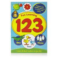 Wilko Fun Learning Book 123 and ABC