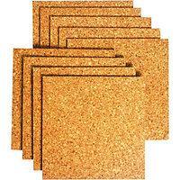 Wickes Sealed Cork Flooring Tile 305 x 305mm Pack 9