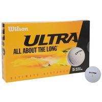 Wilson 15 Pack Ultra Golf Balls