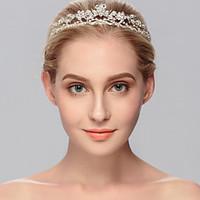 Women\'s Rhinestone Headpiece-Wedding Special Occasion Casual Office Career Outdoor Tiaras 1 Piece