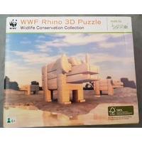 Wwf Rhino 3d Puzzle Game