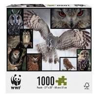 WWF Owls 1000 Piece Puzzle
