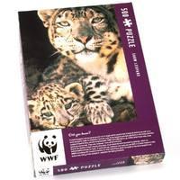 WWF Puzzles Snow Leopard 500 Piece Jigsaw Puzzle